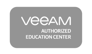 Veeam authorized education center Logo